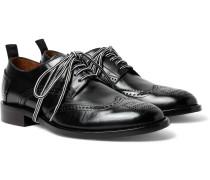 Leather Wingtip Brogues
