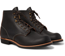3345 Blacksmith Leather Boots - Black