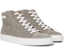 Jerold Suede High-top Sneakers