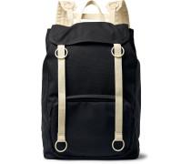 + Eastpak Webbing-Trimmed Canvas Backpack