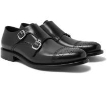 Bristol Weatherproof Leather Monk-strap Shoes