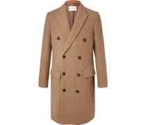 Ives Double-breasted Wool-blend Overcoat