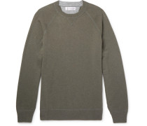 Wool, Cashmere And Silk-blend Sweater