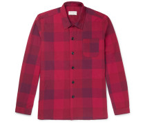 Checked Cotton Pyjama Shirt