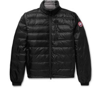 d8d7a5fe3423 Lodge Packable Quilted Nylon-ripstop Down Jacket - Black. Canada Goose