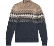 Fair Isle Baby Cashmere Sweater