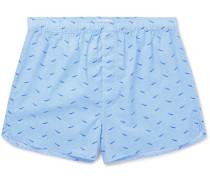 Ledbury Printed Cotton Boxer Shorts