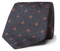 7.5cm Silk-jacquard Tie