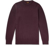 Textured Merino Wool-blend Sweater
