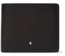 Full-grain Leather Billfold Wallet - Gray
