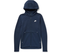 Cotton-blend Tech Fleece Zip-up Hoodie