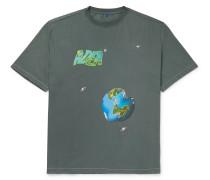 Oversized Logo-Printed Cotton-Jersey T-Shirt