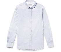 Checked Slub Cotton Shirt