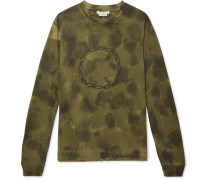 Thorn Tie-dyed Cotton-jersey T-shirt