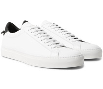 Urban Street Leather Sneakers - White