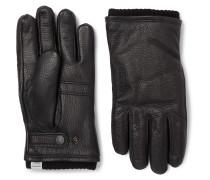 + Hestra Utsjo Wool Blend-Lined Full-Grain Leather Gloves