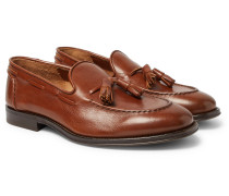 Full-grain Leather Tasselled Loafers