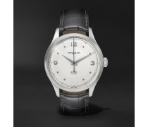 Heritage Automatic 40mm Stainless Steel and Alligator Watch, Ref. No. 119943