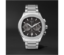 Polo S Chronograph 42mm Stainless Steel Watch, Ref. No. G0A42005