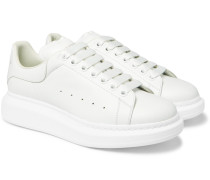 Larry Exaggerated-sole Leather Sneakers