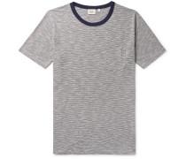 Striped Cotton-Jersey T-Shirt