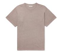 University Oversized Slub Cotton-Jersey T-Shirt