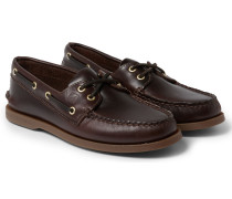 Authentic Original Burnished-leather Boat Shoes