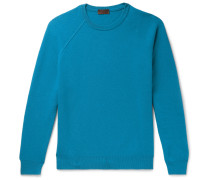 Virgin Wool and Cashmere-Blend Sweater