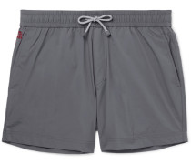 Mid-length Swim Shorts - Gray
