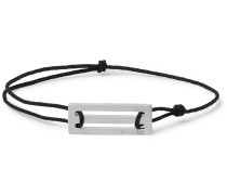 Le 25/10 Cord and Sterling Silver Bracelet