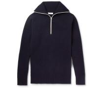 Jock Wool-blend Half-zip Sweater