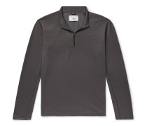 Trail Slim-Fit Power Dry Tech-Piqué Half-Zip T-Shirt