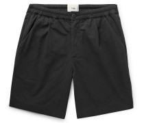 Loom Garment-Dyed Cotton-Canvas Shorts