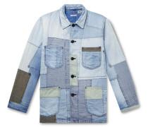 Yuki Fubuki Embroidered Patchwork Denim Jacket