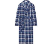 Ranga 31 Checked Cotton Robe