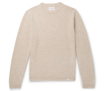 Sigfried Brushed-wool Sweater - Cream