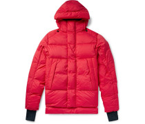 Armstrong Packable Quilted Nylon-Ripstop Hooded Down Jacket