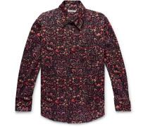 Coco Printed Cotton-Corduroy Shirt