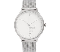 Helvetica No1 Light Stainless Steel Watch - Silver