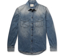 Knole Paint-splattered Denim Shirt