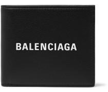 Logo-print Full-grain Leather Billfold Wallet