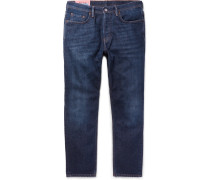 River Stretch-denim Jeans - Blue