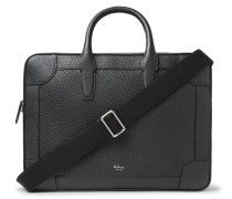 Belgrave Full-grain Leather Briefcase - Black