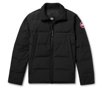 Woolford Slim-fit Quilted Shell Down Jacket - Black