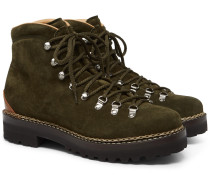 Fidel Suede Boots - Green