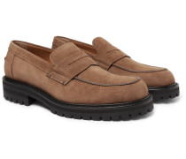 Jacques Leather Penny Loafers