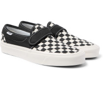 Anaheim Factory 47 V Dx Checkerboard Canvas Sneakers