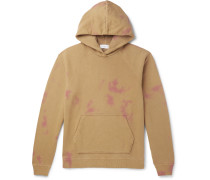 Double-Dyed Loopback Cotton-Jersey Hoodie
