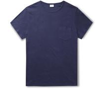 Chad Linen-Blend Jersey T-Shirt
