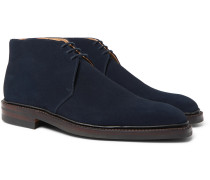 Nathan Suede Chukka Boots - Blue